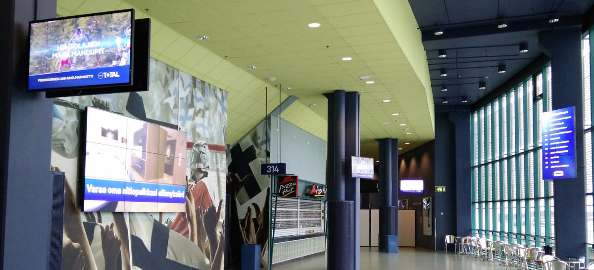 Hartwall Arena videoseinä ja infonäyttö
